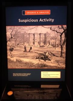 Spy Training: Spot the Suspicious Activity