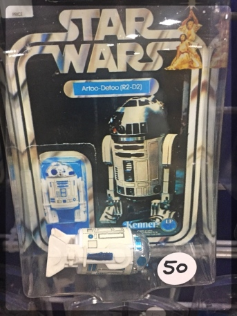 Ottawa Comiccon Star Wars Action Figure Kenner R2D2