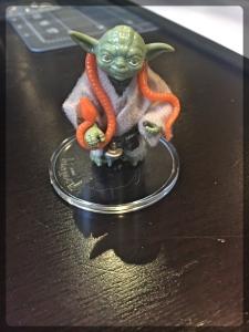 Ottawa Comiccon Star Wars Action Figure Yoda 1980
