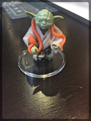 Ottawa Comiccon Star Wars Action Figure Yoda 1980