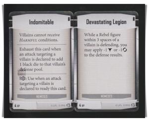 Imperial Assault Jabbas Realm Hutt Nemesis 4 XP