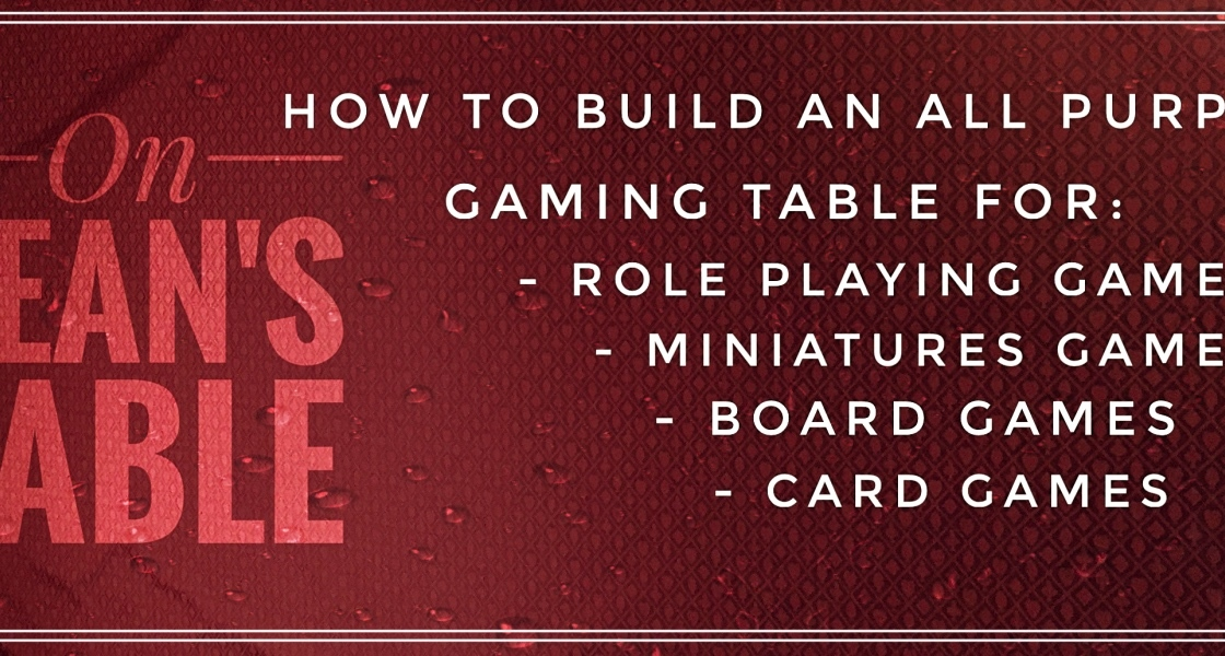 Build Your Own Gaming Table
