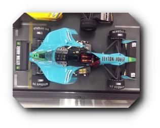 Hornet Hobbies Model F1 Blue