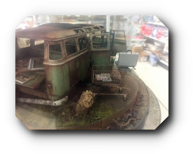 Hornet Hobbies Model VW Bus Side
