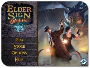 Elder Sign Omens App Home
