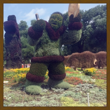 MosaiCanada Canada 150 Birthday Topiary