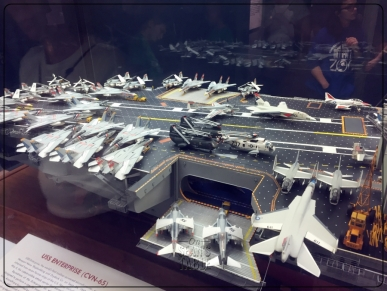 National Air and Space Museum Carrier USS Enterprise Diorama 1
