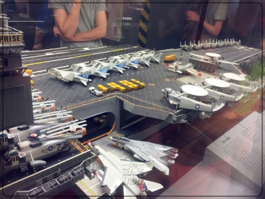 National Air and Space Museum Carrier USS Enterprise Diorama 2