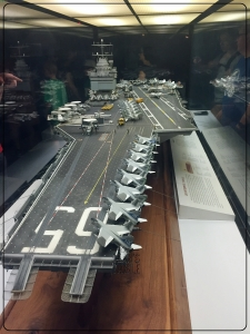 National Air and Space Museum Carrier USS Enterprise Diorama 4