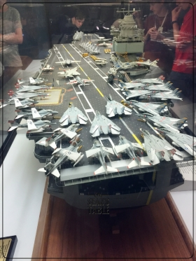 National Air and Space Museum Carrier USS Enterprise Diorama 6