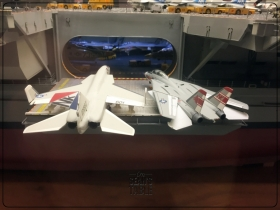 National Air and Space Museum Carrier USS Enterprise Diorama 8