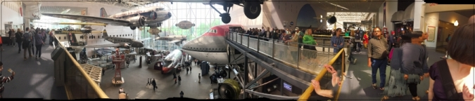 National Air and Space Museum Main Gallery 1