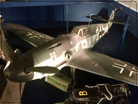National Air and Space Museum WWII German 109