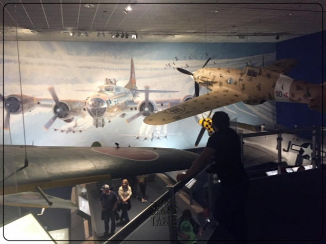National Air and Space Museum WWII Painting