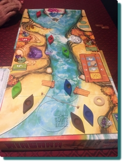 Niagara Board Game Down River View