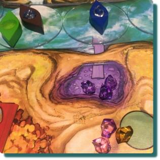 Niagara Board Game Purple Gems