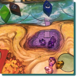 Niagara Board Game Purple Gems