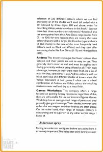 Painting Wargaming Figures Basics 2