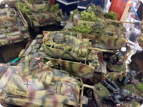 Decals German Armour Infantry