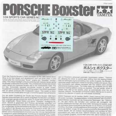 Decals Porsche Boxster Damaged