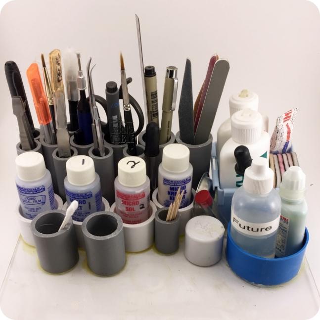 Decals Tool Organizer