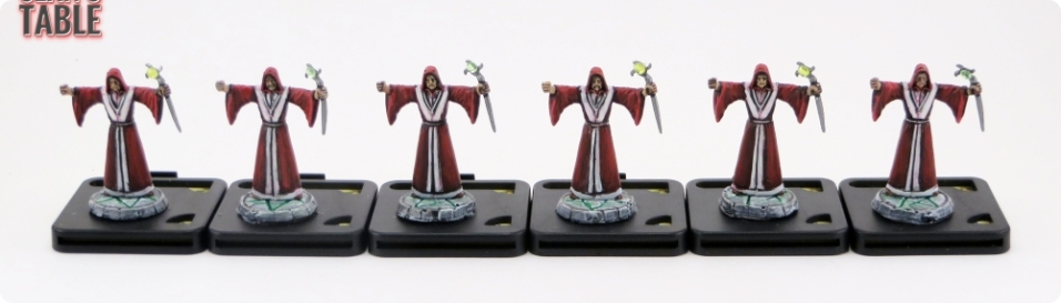 Mansion Madness Painted Figures Cultists