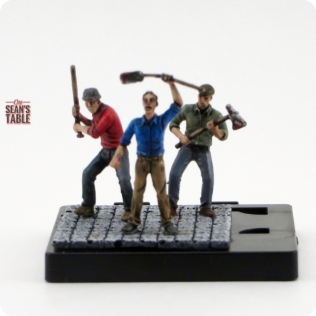 Mansion Madness Painted Figures Riot