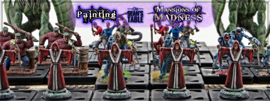Mansion Madness Painted Figures Feature Image