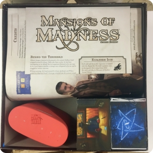 Mansions Madness Box Insert