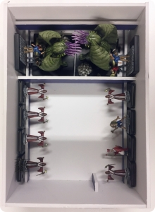 Mansion Madness Painted Figures Storage