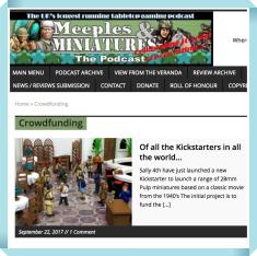 Kickstarter Meeplemart Roundup