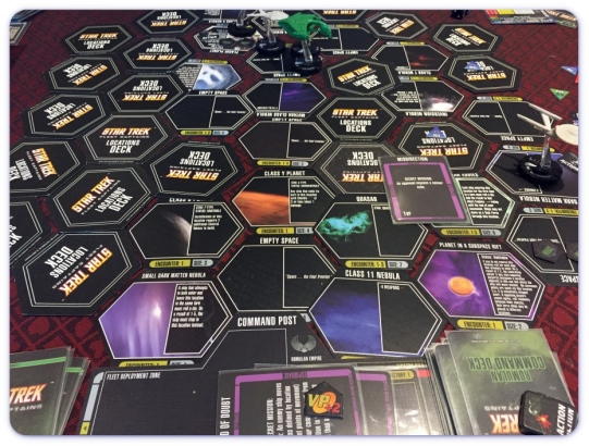 Star Trek Fleet Captains Board Mid Game