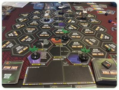 Star Trek Fleet Captains Game Layout