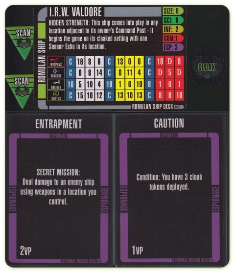 Star Trek Fleet Captains Romulan Ship Espionage