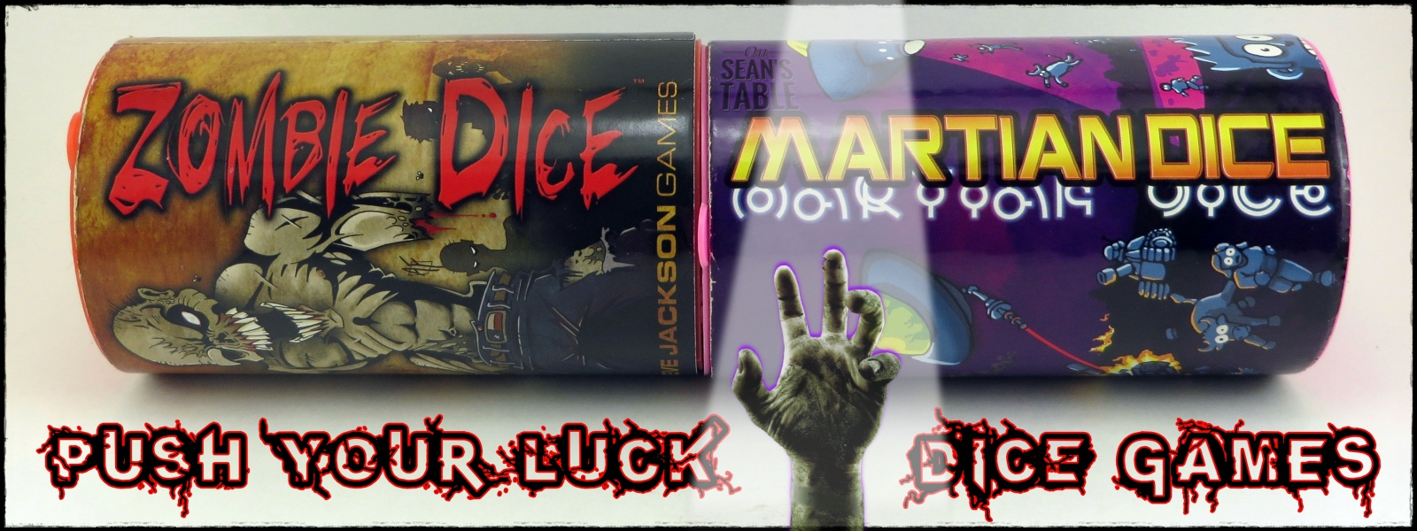 Push Your Luck Dice Games Featured Image