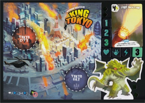Push Your Luck Dice King of Tokyo