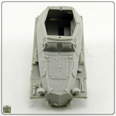 Blitzkrieg Miniatures Resin Vehicles Pitted Hood