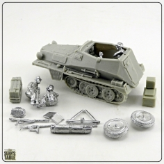 Blitzkrieg Miniatures Resin Vehicles
