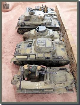 Blitzkrieg Warlord Miniatures Size Comparison