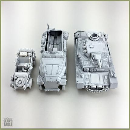 Primed Warlord Models