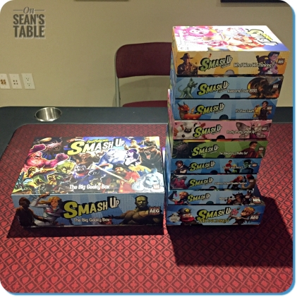 Smash Up Big Geeky Box Expansions