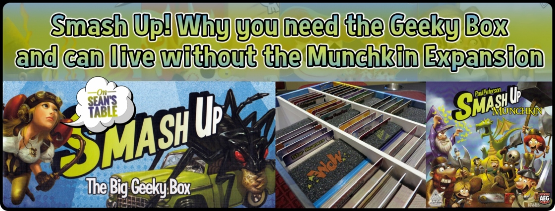 Smash Up Geeky Box Munchkin Featured Image