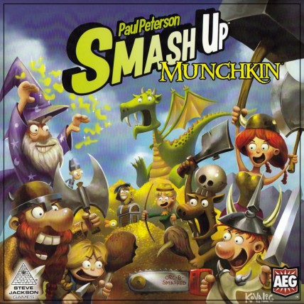 Smash Up Munchkin Box Art
