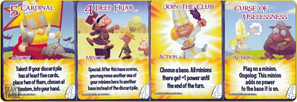 Smash Up Munchkin Clerics