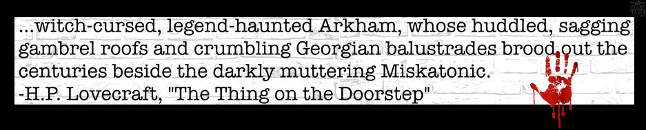 Arkham Quote