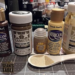 Tamiya Diorama Texture Paints