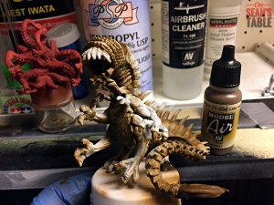 Streets of Arkham Monster Airbrush