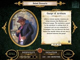 Streets of Arkham Scenario 12