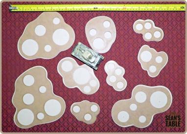 Warlord Sarissa Modular Bare Boards