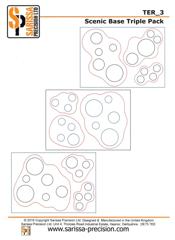 Warlord Sarissa Modular Terrain Board Layout